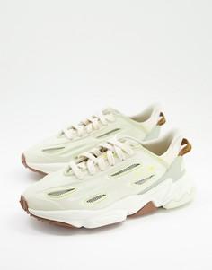 Кроссовки бежевых оттенков adidas Originals Ozweego Celox-Светло-бежевый цвет