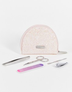 Маникюрный набор в блестящем футляре Skinnydip-Розовый цвет