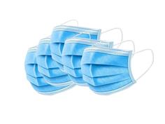 Медицинская маска трёхслойная, белая, 100 шт. URM