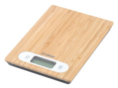 Весы кухонные HYUNDAI HYS-KB411, бамбук