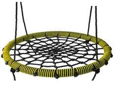 Качели-гнездо Baby Grad 115 см. Желтые/черные KG-115-y
