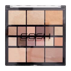 Палетка для макияжа глаз и лица Gosh Grab&Go 25 гр