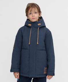 Куртка синяя демисезонная Button Blue