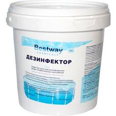 ДЕЗИНФЕКТОР Bestway 1кг ведро, быст.стаб.хлор в гранулах для обеззараживание воды