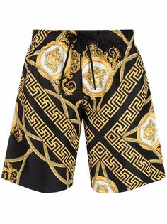 Versace плавки-шорты с принтом Medusa Head