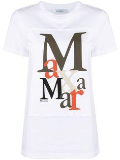 Max Mara футболка с логотипом