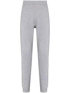 Sunspel зауженные спортивные брюки