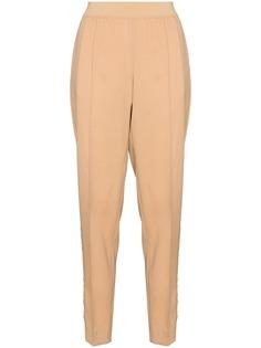 Jil Sander зауженные брюки с завышенной талией