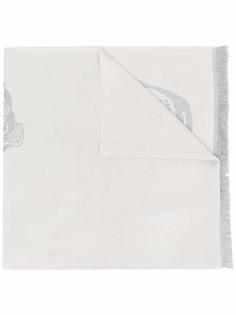 Alexander McQueen шерстяной шарф с принтом