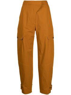 Jonathan Simkhai зауженные брюки карго Heidi