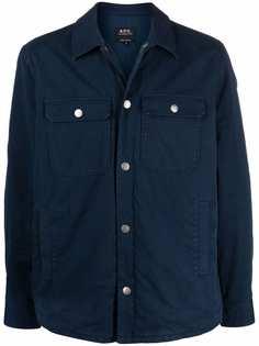 A.P.C. куртка-рубашка Alex