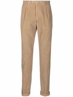 Briglia 1949 вельветовые брюки прямого кроя
