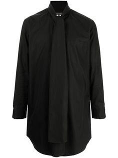 Comme Des Garçons Homme Plus рубашка с длинными рукавами и завязками