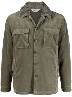 Aspesi куртка с воротником из искусственного меха