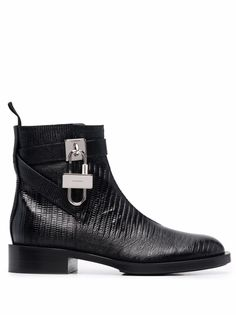 Givenchy ботинки с металлическим декором