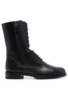 Manolo Blahnik ботинки на молнии