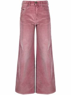 Diesel широкие джинсы с завышенной талией