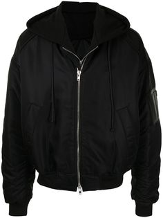 Juun.J куртка-бомбер со сборками