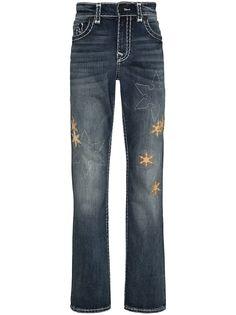 True Religion прямые джинсы Ricky