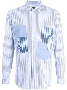Comme Des Garçons Homme Deux полосатая рубашка с длинными рукавами