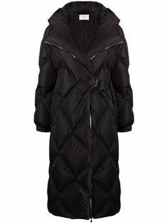 Dorothee Schumacher стеганое пальто Cozy Coolness с поясом
