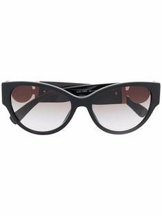 Versace Eyewear солнцезащитные очки в оправе кошачий глаз