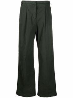 Aspesi широкие брюки с завышенной талией