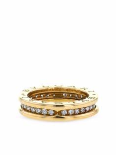 Bvlgari Pre-Owned кольцо B.Zero1 2010-х годов из желтого золота с бриллиантами