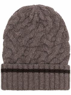Malo кашемировая шапка бини крупной вязки