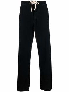 Société Anonyme вельветовые брюки прямого кроя с кулиской