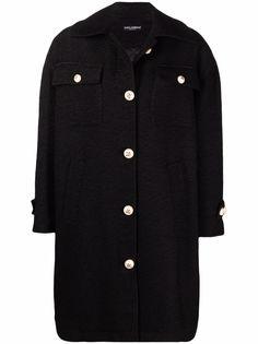 Dolce & Gabbana фактурное пальто