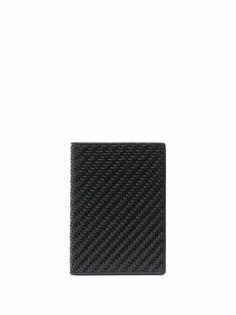 Ermenegildo Zegna плетеная обложка для паспорта