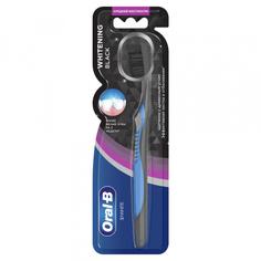 Зубная щетка Oral-B 3D White Whitening Black средняя жесткость