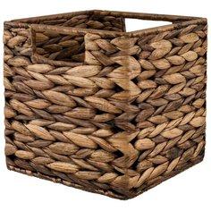 Плетеная корзина для белья WasserKRAFT Glan WB-660-S