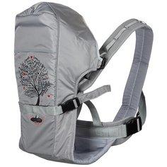 Рюкзак-переноска Чудо-Чадо BabyActive Grace, серый/дерево