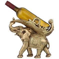 Подставка под бутылку Lefard Серия Махараджи Слон, 28*11.5*26 см (146-1527)