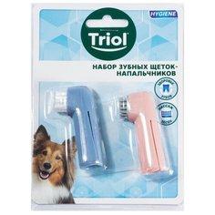 Зубная щетка Triol напальчник блистер 2шт