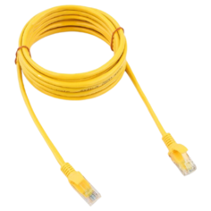 Патч-корд Cablexpert PP12-3M 3 м, желтый