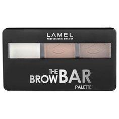 Lamel Professional Набор для бровей The Brow Bar Palette 401