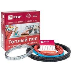 Теплый пол (нагревательный кабель) 1500Вт 100 м 10,0 м2 EKF nk-1500