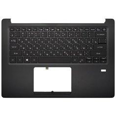 Клавиатура для ноутбука Acer Swift 1 SF114-32 черная топ-панель с подсветкой