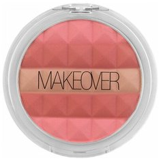 MAKEOVER Компактные румяна Mosaic pink cheek glow
