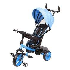 Трехколесный велосипед SAFARI BL0097, голубой