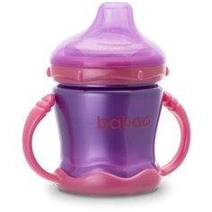 Поильник Baboo с силиконовым носиком, 180 мл фиолетовый
