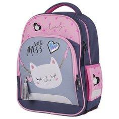 Berlingo ранец Flash Cat-purse, фиолетовый/розовый