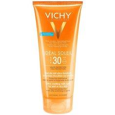 Vichy Capital Ideal Soleil тающая эмульсия с технологией нанесения на влажную кожу SPF 30 200 мл