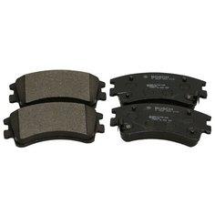Дисковые тормозные колодки передние Bosch 0986494079 для Mazda 6, Mazda Atenza (4 шт.)