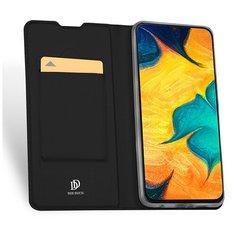 Чехол горизонтальная книжка подставка на силиконовой основе с отсеком для карт для Motorola Moto E7 Plus/G9 Play черный 100gadgets
