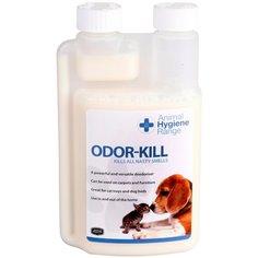 Уничтожитель запахов мочи, Уничтожитель запахов мочи, шерсти, выделений, табака, гари. Концентрат 1:50 - Odor-Kill, 250 мл. Animal Health