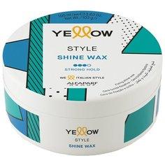 Yellow Воск для блеска Shine Wax, сильная фиксация, 100 мл, 103 г